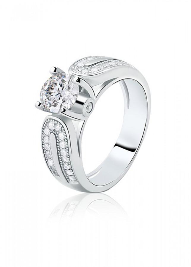 Nhẫn bạc Impressive - 1723349 , 8075083765308 , 62_9421755 , 989000 , Nhan-bac-Impressive-62_9421755 , tiki.vn , Nhẫn bạc Impressive