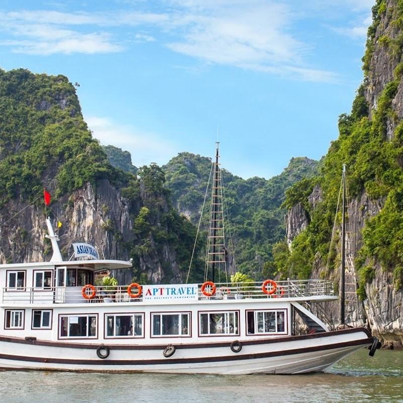 Tour 2N1Đ: Du Thuyền Hạ Long - Tuần Châu, KS 3 Sao, Khởi Hành Hàng Ngày Từ Hà Nội
