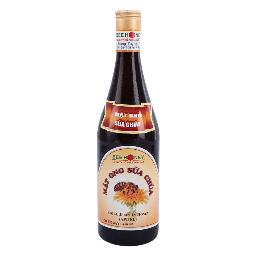 Mật Ong Sữa Chúa Bee Honey (Chai 450ml) - 1100273 , 8935014632416 , 62_4051873 , 71000 , Mat-Ong-Sua-Chua-Bee-Honey-Chai-450ml-62_4051873 , tiki.vn , Mật Ong Sữa Chúa Bee Honey (Chai 450ml)