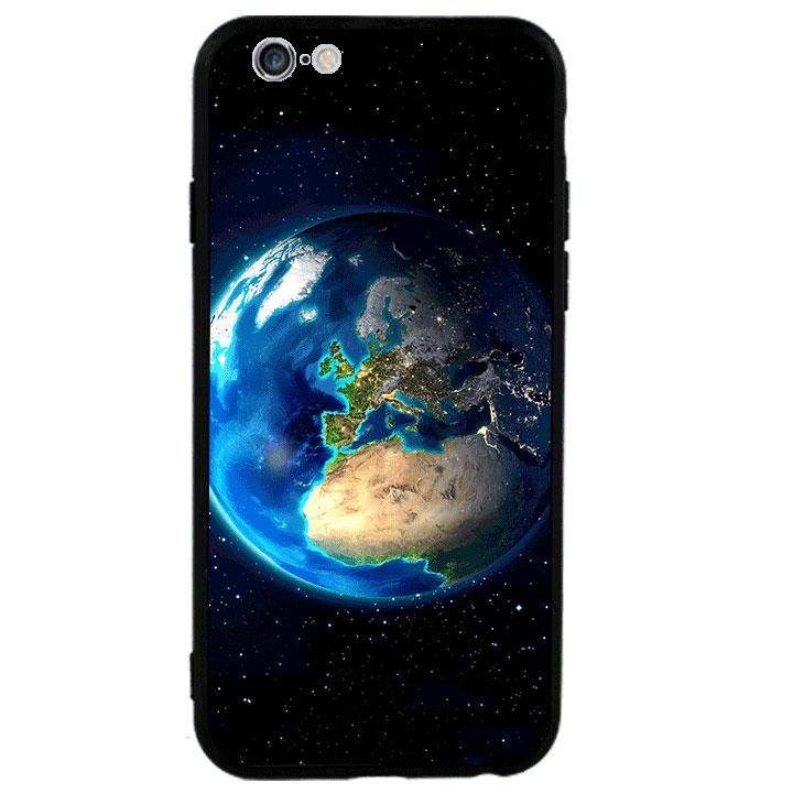 Ốp lưng viền TPU cao cấp cho Iphone 6 Plus - Earth