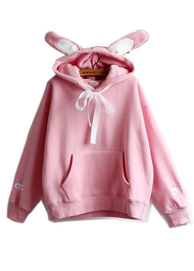 Áo khoác hoodie nữ tay dài tai thỏ cực cá tính,dễ thương 129 - 4848370 , 7246101757990 , 62_11455639 , 408000 , Ao-khoac-hoodie-nu-tay-dai-tai-tho-cuc-ca-tinhde-thuong-129-62_11455639 , tiki.vn , Áo khoác hoodie nữ tay dài tai thỏ cực cá tính,dễ thương 129
