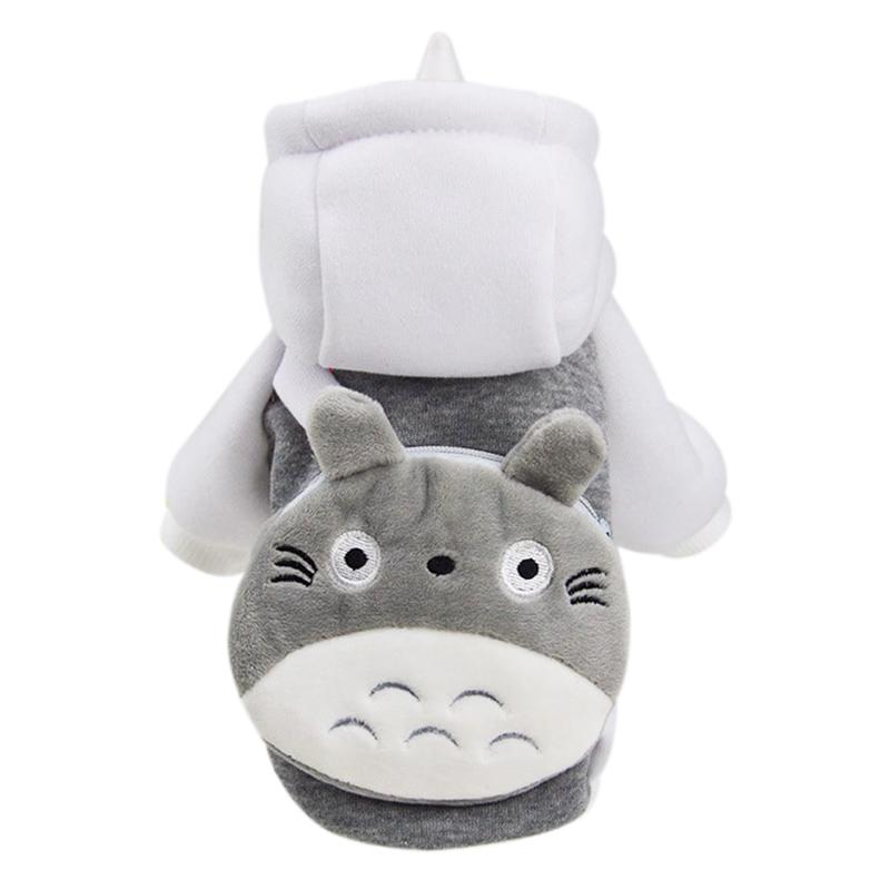 Áo Khoác Nỉ Cho Chó Mèo Có Túi Kún Miu - Totoro