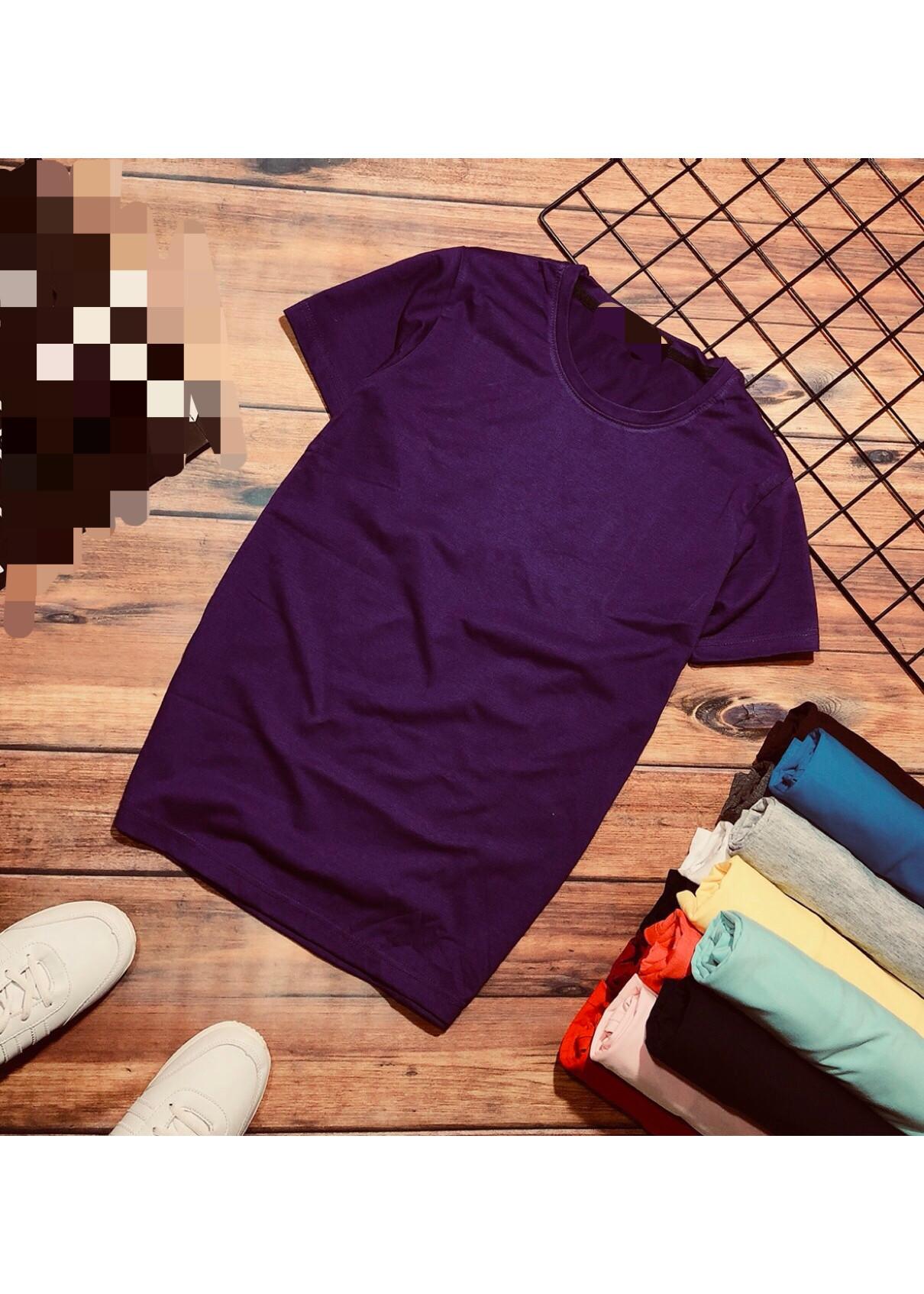 áo thun nam trơn nhiều màu