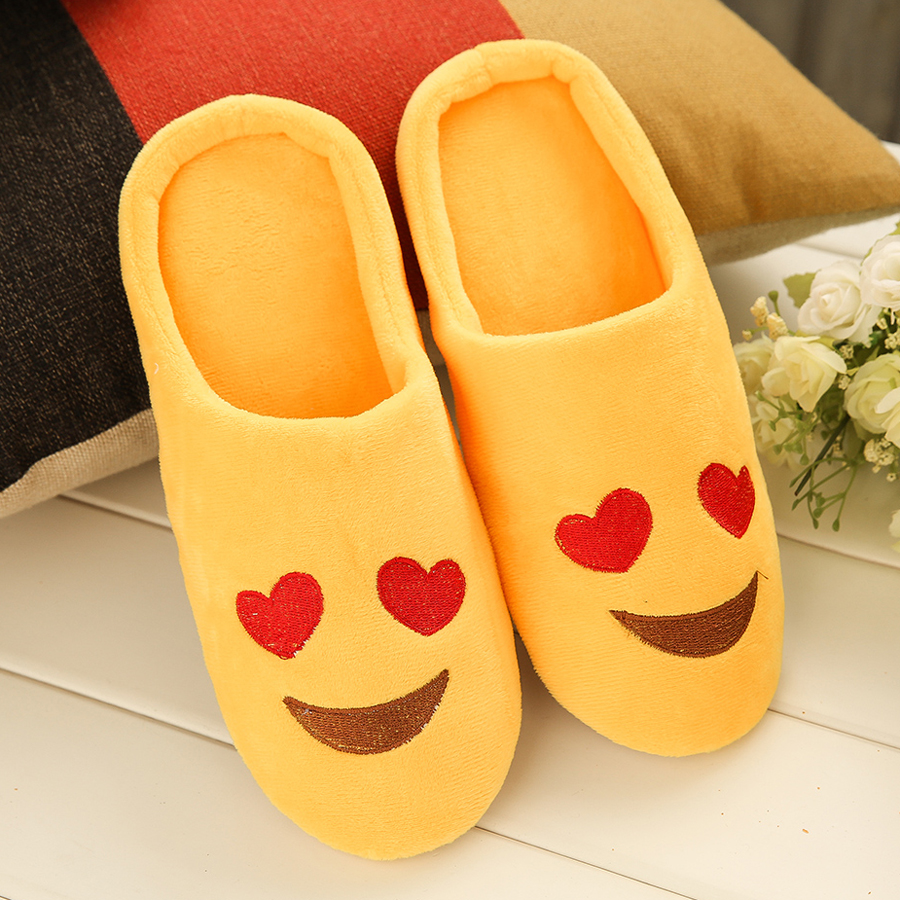 Fashion Embroidery Cute Expression Women Men Winter Warm Slippers House Indoor Floor Loafer Soft Qui - 1290687 , 1158114146707 , 62_13750754 , 189000 , Fashion-Embroidery-Cute-Expression-Women-Men-Winter-Warm-Slippers-House-Indoor-Floor-Loafer-Soft-Qui-62_13750754 , tiki.vn , Fashion Embroidery Cute Expression Women Men Winter Warm Slippers House Indo