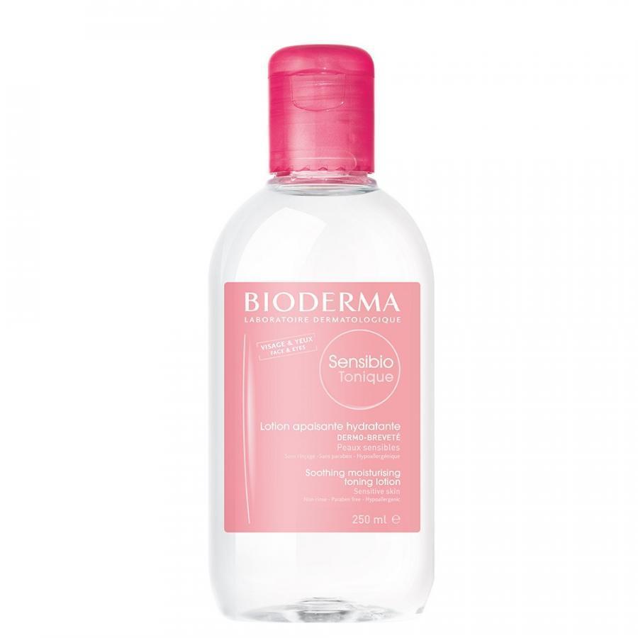 Nước hoa hồng dưỡng ẩm dành cho da nhạy cảm BIODERMA Sensibio Tonique 250ml - 986067 , 3848528124795 , 62_5573207 , 436000 , Nuoc-hoa-hong-duong-am-danh-cho-da-nhay-cam-BIODERMA-Sensibio-Tonique-250ml-62_5573207 , tiki.vn , Nước hoa hồng dưỡng ẩm dành cho da nhạy cảm BIODERMA Sensibio Tonique 250ml