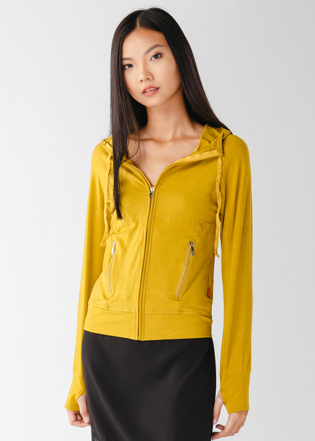 Áo khoác nữ slim 4 túi dây kéo 4044_cai