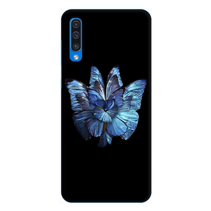 Ốp lưng dành cho điện thoại Samsung Galaxy A50 hình Bướm Xanh - Hàng chính hãng
