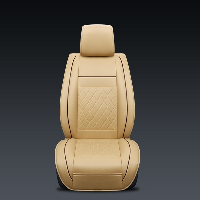 Áo ghế trước xe ô tô A00-5 (1 Ghế), Áo ghế xe hơi, bọc da ghế xe cao cấp