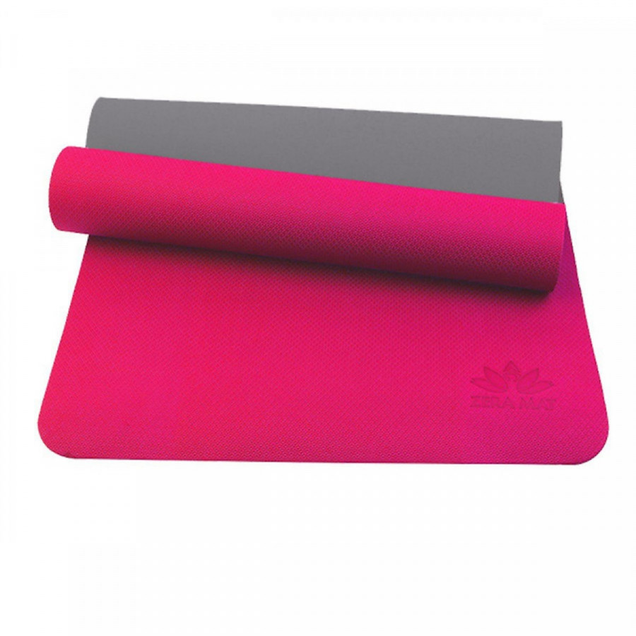 Thảm Yoga Premium Zera YESURE 6mm 2 Lớp Màu Hồng
