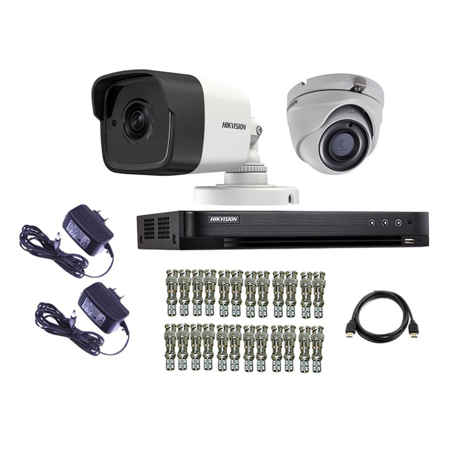 Bộ Camera Quan Sát Hikvision TVI 3 Megapixel DS-2CE16F1T-IT - Hàng Chính Hãng - 1036258 , 2434071329490 , 62_5928807 , 3820000 , Bo-Camera-Quan-Sat-Hikvision-TVI-3-Megapixel-DS-2CE16F1T-IT-Hang-Chinh-Hang-62_5928807 , tiki.vn , Bộ Camera Quan Sát Hikvision TVI 3 Megapixel DS-2CE16F1T-IT - Hàng Chính Hãng
