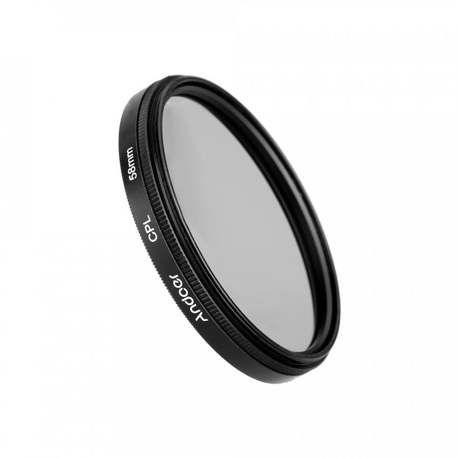 Andoer 58mm Digital Slim CPL Circular Polarizer Polarizing Glass Filter for Canon Nikon Sony DSLR Camera Lens - 806305 , 1475692331883 , 62_14420514 , 231000 , Andoer-58mm-Digital-Slim-CPL-Circular-Polarizer-Polarizing-Glass-Filter-for-Canon-Nikon-Sony-DSLR-Camera-Lens-62_14420514 , tiki.vn , Andoer 58mm Digital Slim CPL Circular Polarizer Polarizing Glass Fil