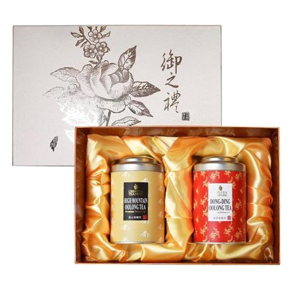 Hộp Trà Oolong Thuần Chinyea Teapark (2 Loại Trà)