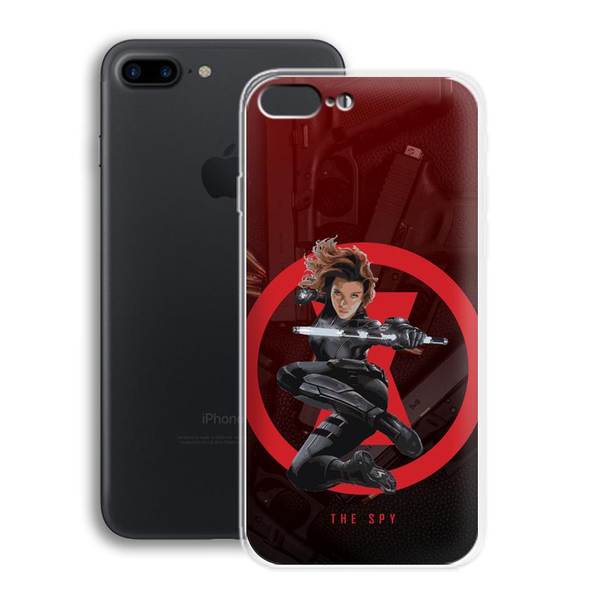Ốp lưng cho điện thoại Apple Iphone 7 Plus/Iphone 8 Plus - 01014 0538 SPY01 - Silicone dẻo - Hàng Chính Hãng