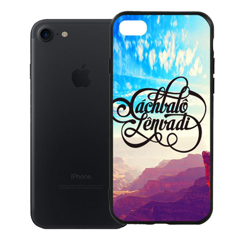 Ốp Lưng Viền TPU Cao Cấp Dành Cho iPhone 7 - Mẫu 66