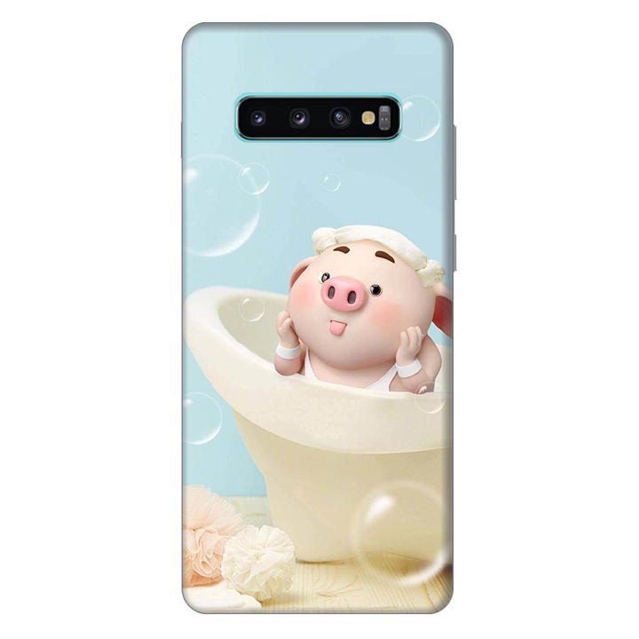 Ốp lưng nhựa cứng nhám dành cho Samsung Galaxy S10 Plus in hình Heo Xì Tin - 4782491 , 1919887025626 , 62_16465777 , 200000 , Op-lung-nhua-cung-nham-danh-cho-Samsung-Galaxy-S10-Plus-in-hinh-Heo-Xi-Tin-62_16465777 , tiki.vn , Ốp lưng nhựa cứng nhám dành cho Samsung Galaxy S10 Plus in hình Heo Xì Tin