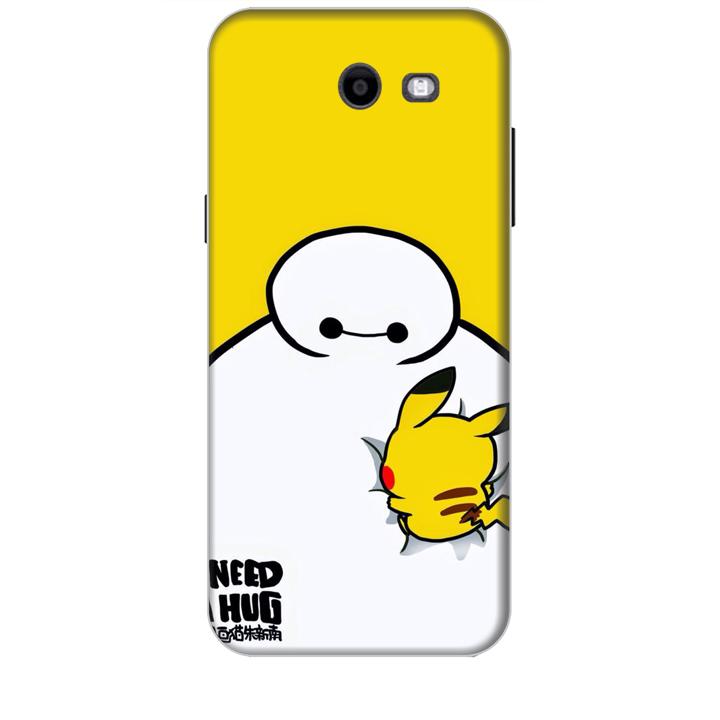 Ốp lưng dành cho điện thoại  SAMSUNG GALAXY J3 PRIME hình Big Hero Pikachu
