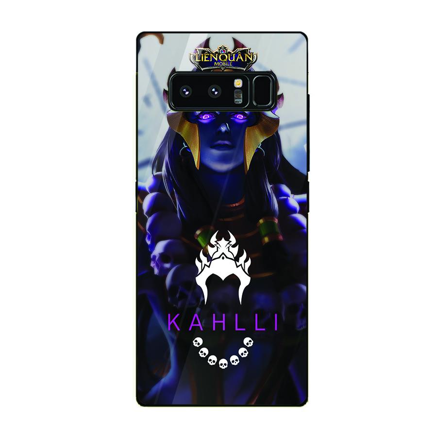 Ốp kính cường lực dành cho điện thoại Samsung Galaxy Note 8 - liên quân mobile - lqm082 - hàng đẹp