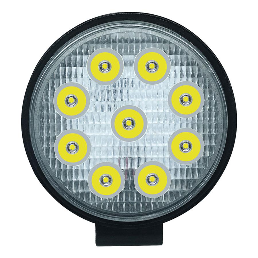 Đèn LED Tròn Trợ Sáng Xe Địa Hình (27W) (9LED)