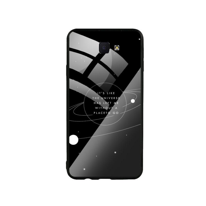 Ốp Lưng Kính Cường Lực cho điện thoại Samsung Galaxy J7 Prime - Alone 02