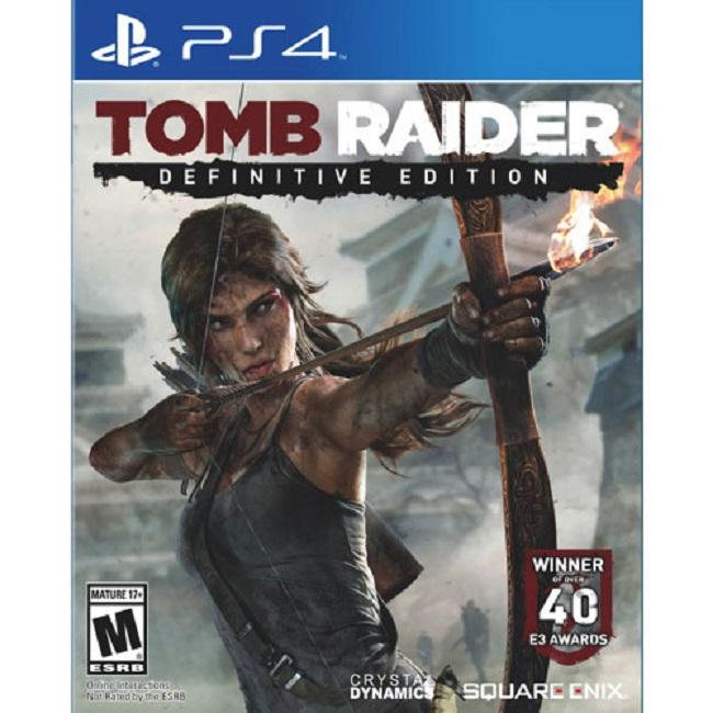 Đĩa Game Ps4: TombRaider Definitive Edition