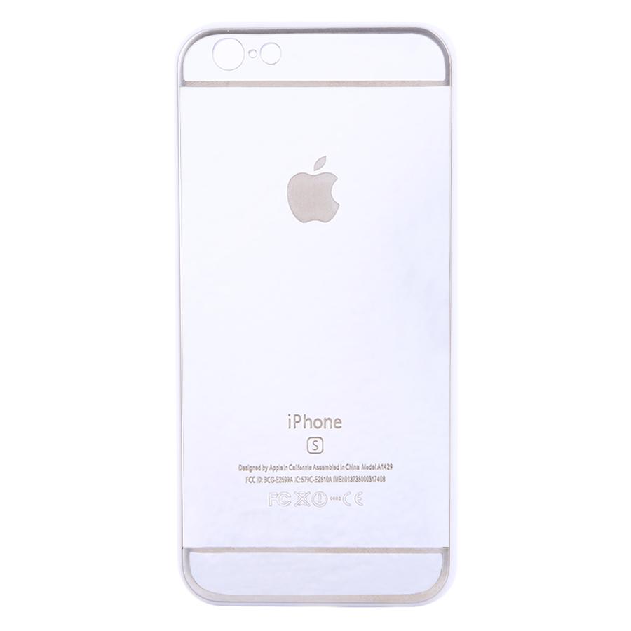 Ốp Lưng Dành Cho iPhone 6/ 6S Tráng Gương Chống Sốc Cao Cấp