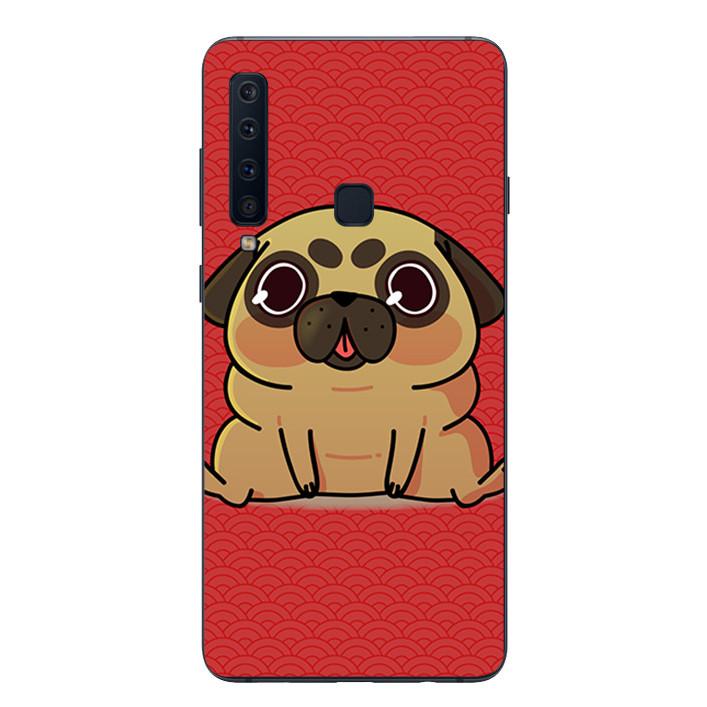 Ốp lưng Dẻo Cho Samsung Galaxy A9 2018 - Cute Dog 02