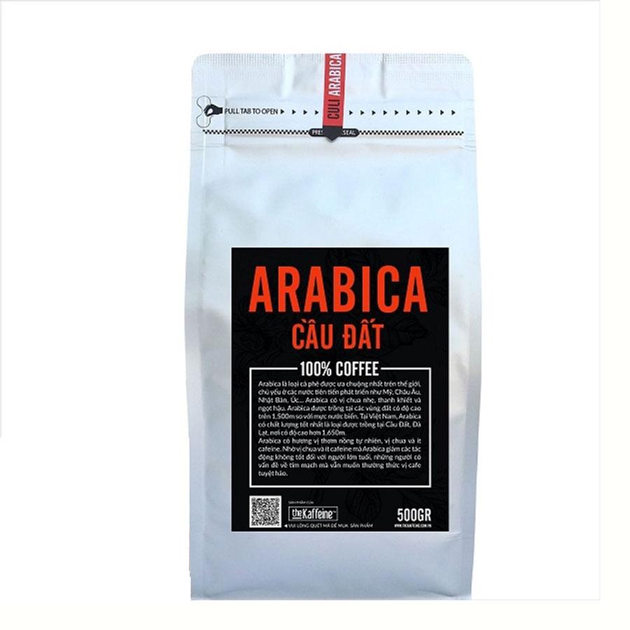Cà phê Arabica Cầu Đất 500g - The Kaffeine Coffee - 6047829 , 7484676841434 , 62_8024310 , 195000 , Ca-phe-Arabica-Cau-Dat-500g-The-Kaffeine-Coffee-62_8024310 , tiki.vn , Cà phê Arabica Cầu Đất 500g - The Kaffeine Coffee