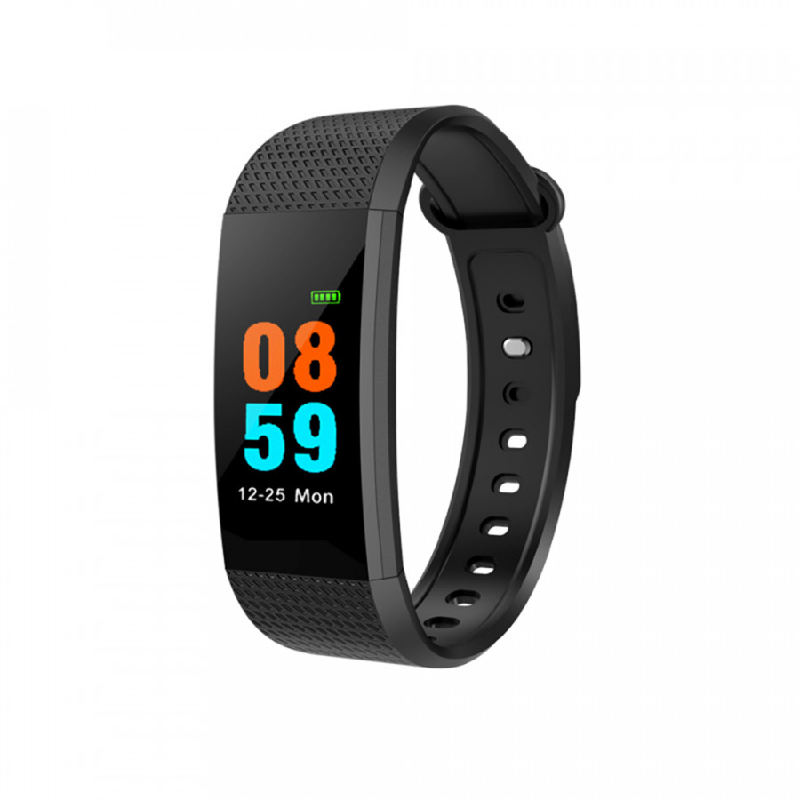Smart Band Bracelet Watch Wristband Fitness Tracker BT 4.0 Android Ios Compatibility 0.96In Oled Touch Screen
