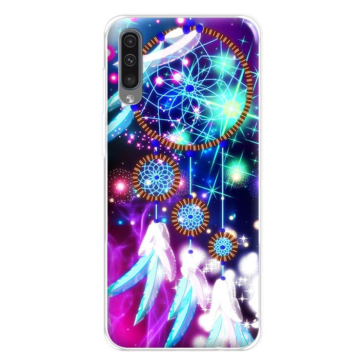 Ốp lưng dẻo cho điện thoại Samsung Galaxy A50 - 224 0096 DREAMCATCHER09
