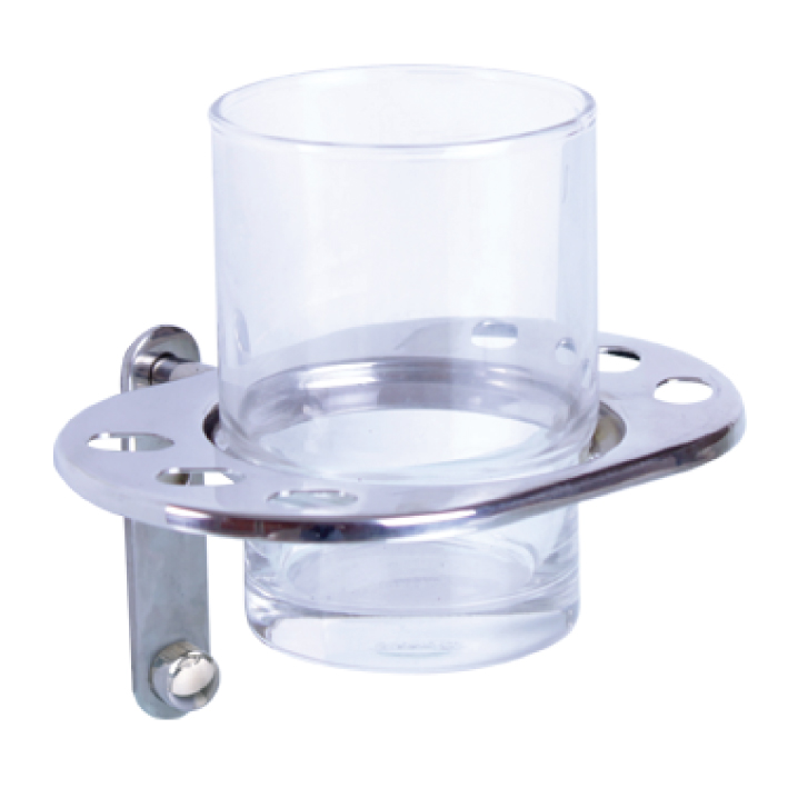 Giá để ly và bàn chải đánh răng - AT-9607 - INOX SUS 304