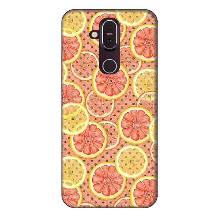 Ốp lưng dành cho điện thoại Nokia 8.1 Lemon