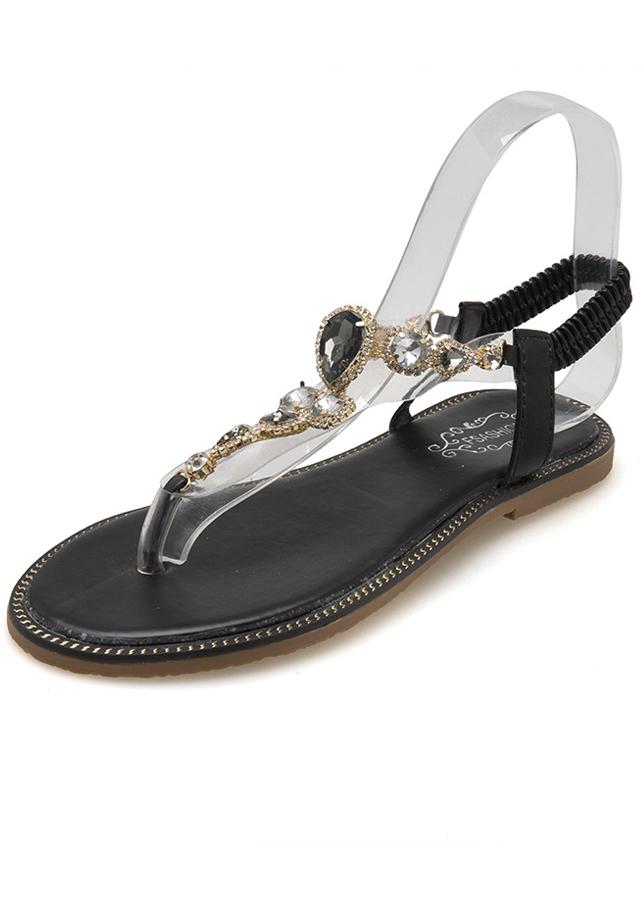 Giày Sandal Nữ Xỏ Ngón Quai Đá Đế Bệt - 8140890 , 5658035675790 , 62_16459028 , 380000 , Giay-Sandal-Nu-Xo-Ngon-Quai-Da-De-Bet-62_16459028 , tiki.vn , Giày Sandal Nữ Xỏ Ngón Quai Đá Đế Bệt