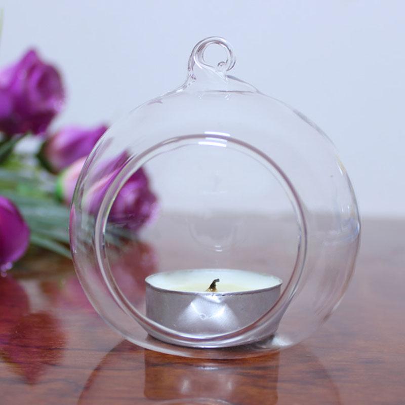 DIY Candlestick Handcraft Glass Ball Series Sound Sensitive Lights Mini H
