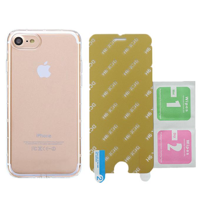 Bộ Ốp Lưng Dẻo Vucase Dành Cho iPhone 7/8 + Kính Cường Lực Nano (Trong suốt) - 6509006075837,62_2606243,55000,tiki.vn,Bo-Op-Lung-Deo-Vucase-Danh-Cho-iPhone-7-8-Kinh-Cuong-Luc-Nano-Trong-suot-62_2606243,Bộ Ốp Lưng Dẻo Vucase Dành Cho iPhone 7/8 + Kính Cường Lực Nano (Trong suốt)
