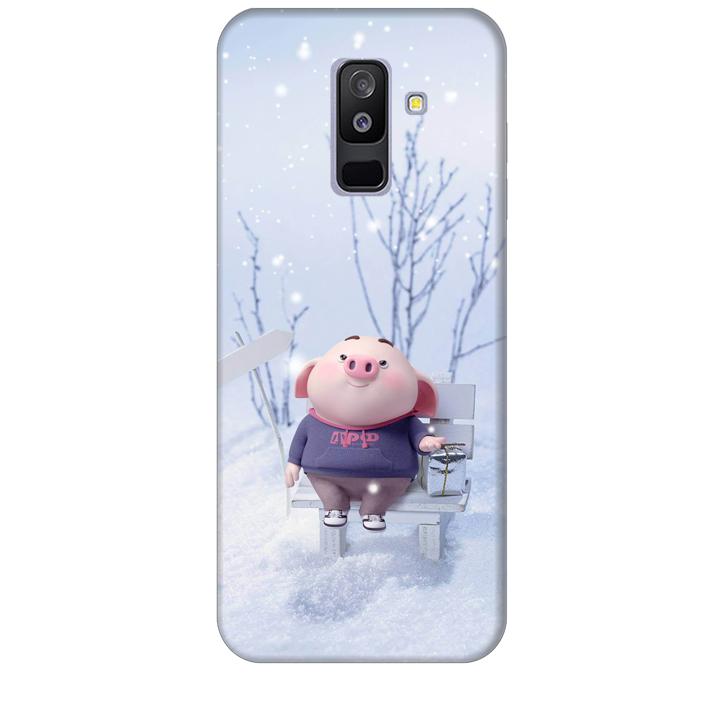 Ốp lưng nhựa cứng nhám dành cho Samsung Galaxy A6 Plus 2018 in hình Heo Con Đón Tuyết - 1749425 , 9988751259230 , 62_12296911 , 200000 , Op-lung-nhua-cung-nham-danh-cho-Samsung-Galaxy-A6-Plus-2018-in-hinh-Heo-Con-Don-Tuyet-62_12296911 , tiki.vn , Ốp lưng nhựa cứng nhám dành cho Samsung Galaxy A6 Plus 2018 in hình Heo Con Đón Tuyết