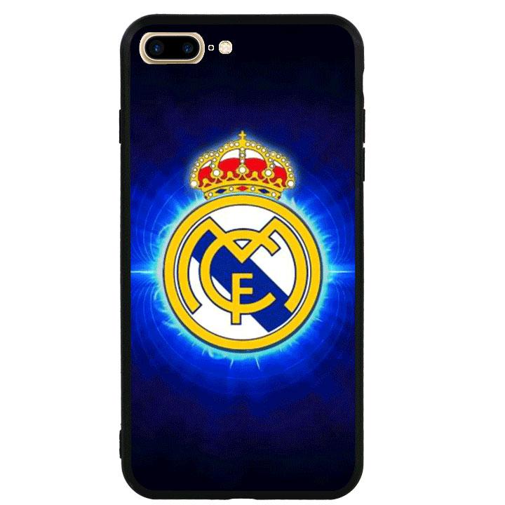 Ốp lưng viền TPU cao cấp cho Iphone 7 Plus - Clb Real Madrid 01
