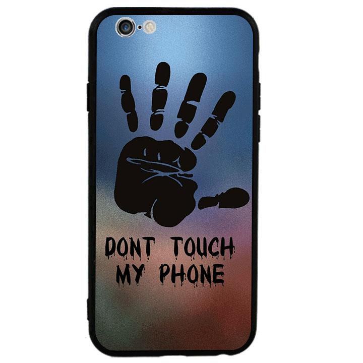 Ốp lưng viền TPU cao cấp cho Iphone 6 Plus - Dont Touch My Phone