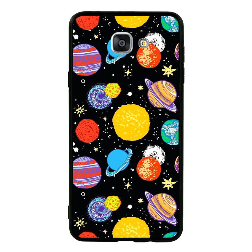 Ốp lưng nhựa cứng viền dẻo TPU cho điện thoại Samsung Galaxy A9 Pro - Galaxy 03