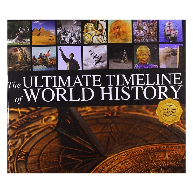 The Ultimate Timeline Of World History - 1278814 , 7841697804945 , 62_11855694 , 678000 , The-Ultimate-Timeline-Of-World-History-62_11855694 , tiki.vn , The Ultimate Timeline Of World History