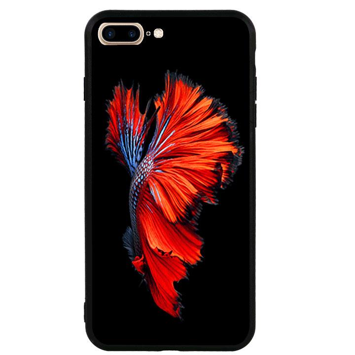 Ốp lưng viền TPU cao cấp cho Iphone 7 Plus - Fish 01