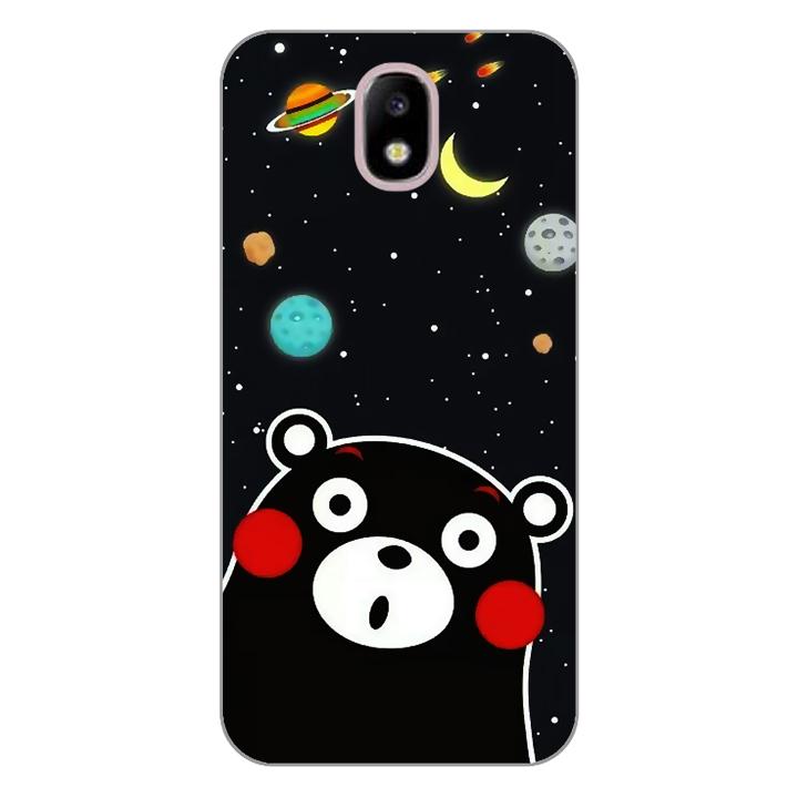 Ốp lưng dẻo Nettacase cho điện thoại Samsung Galaxy J3 Pro_0345 BEAR03 - Hàng Chính Hãng