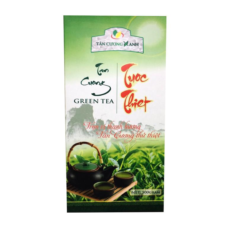 Trà xanh tân cương 500 gram - trà tân cương tước thiệt