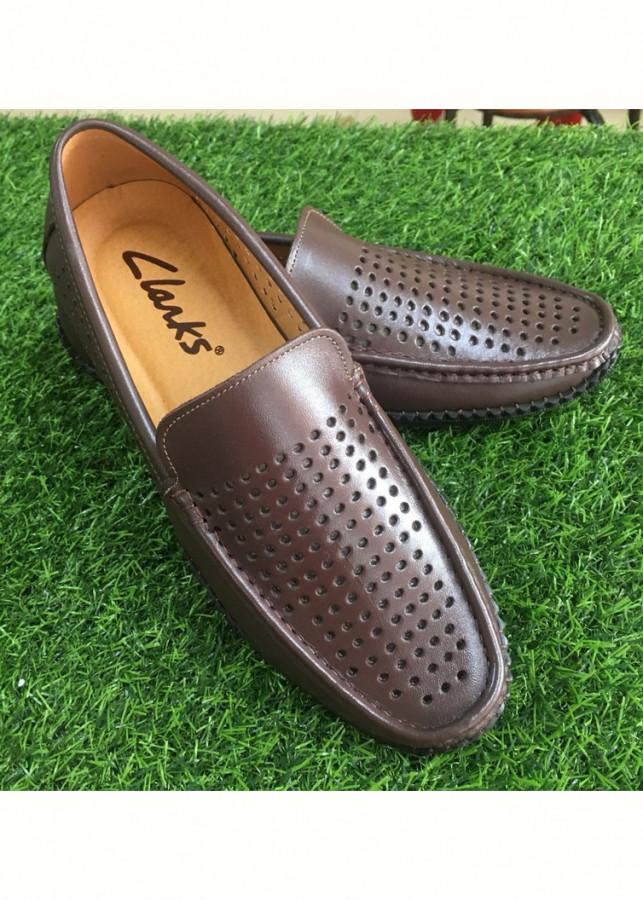 Giày Lười Nam Da Bò Thật GN126