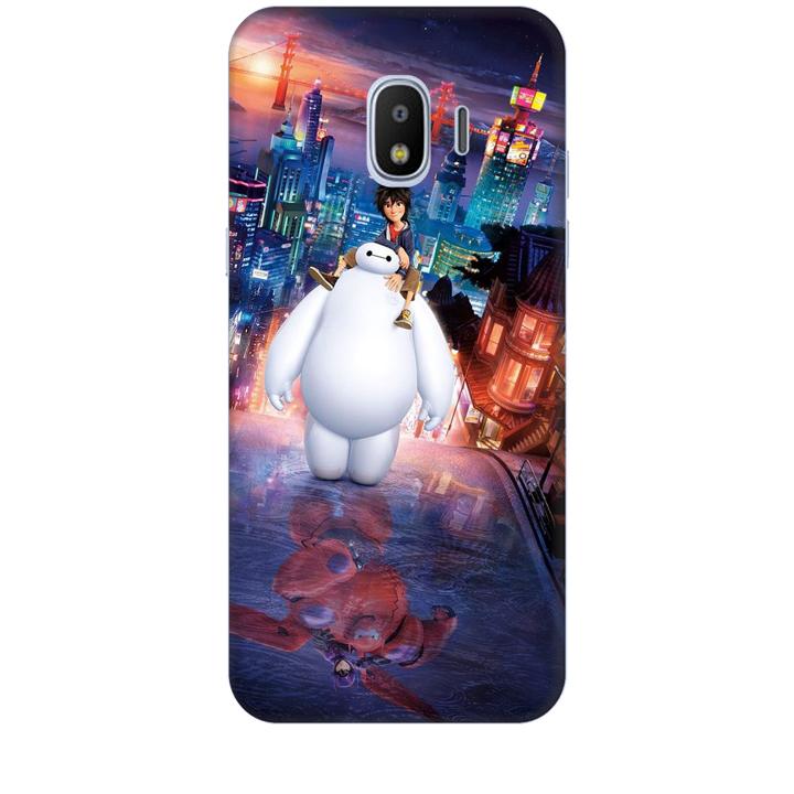 Ốp lưng dành cho điện thoại  SAMSUNG GALAXY J2 PRO hình Big Hero Mẫu 02