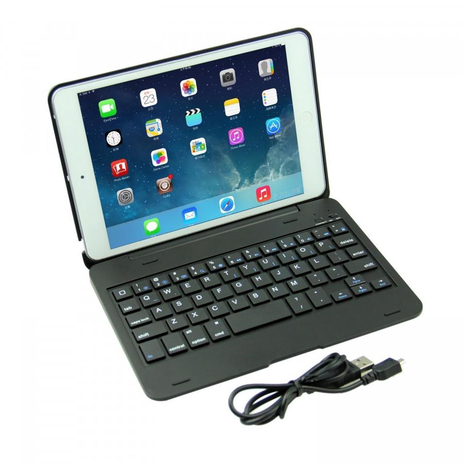 Bàn phím bluetooth thông minh, sang trọng dành cho iPad Mini 1/2/3 - 9626734 , 4234993848684 , 62_12710774 , 929000 , Ban-phim-bluetooth-thong-minh-sang-trong-danh-cho-iPad-Mini-1-2-3-62_12710774 , tiki.vn , Bàn phím bluetooth thông minh, sang trọng dành cho iPad Mini 1/2/3