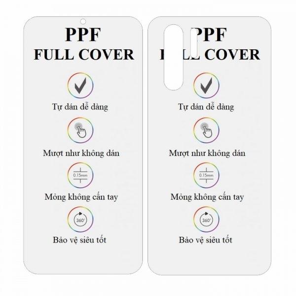 Dán dẻo PPF cho Huawei P30 Pro hai mặt