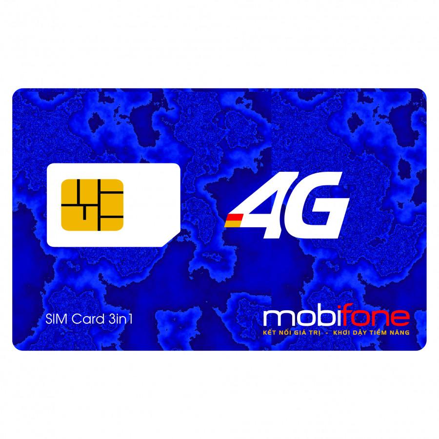 SIM 4G Mobifone MDT250A Trọn Gói 1 Năm Không Cần Nạp Tiền