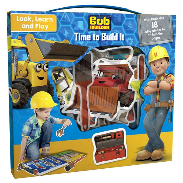 Bob the Builder Look, Learn and Play: Time to Build - 947680 , 9276503307996 , 62_2097943 , 494000 , Bob-the-Builder-Look-Learn-and-Play-Time-to-Build-62_2097943 , tiki.vn , Bob the Builder Look, Learn and Play: Time to Build