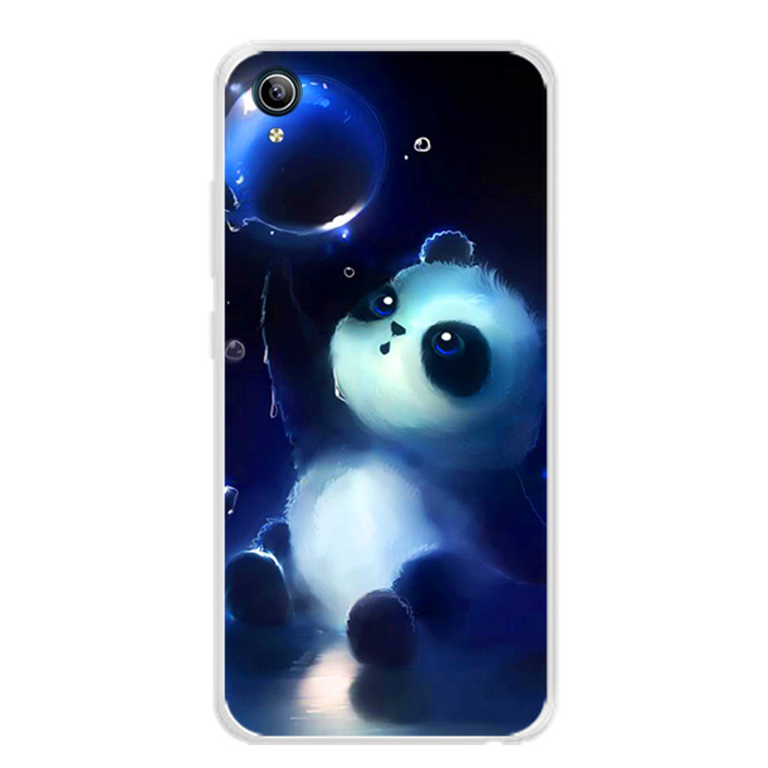 Ốp lưng dẻo cho điện thoại Vivo Y91C - 0294 PANDA - Hàng Chính Hãng