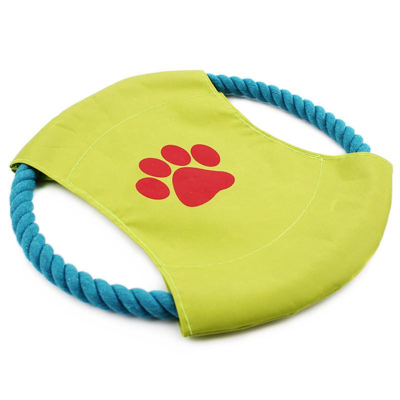 Đồ chơi dĩa bay ném cho chó (màu ngẫu nhiên)
